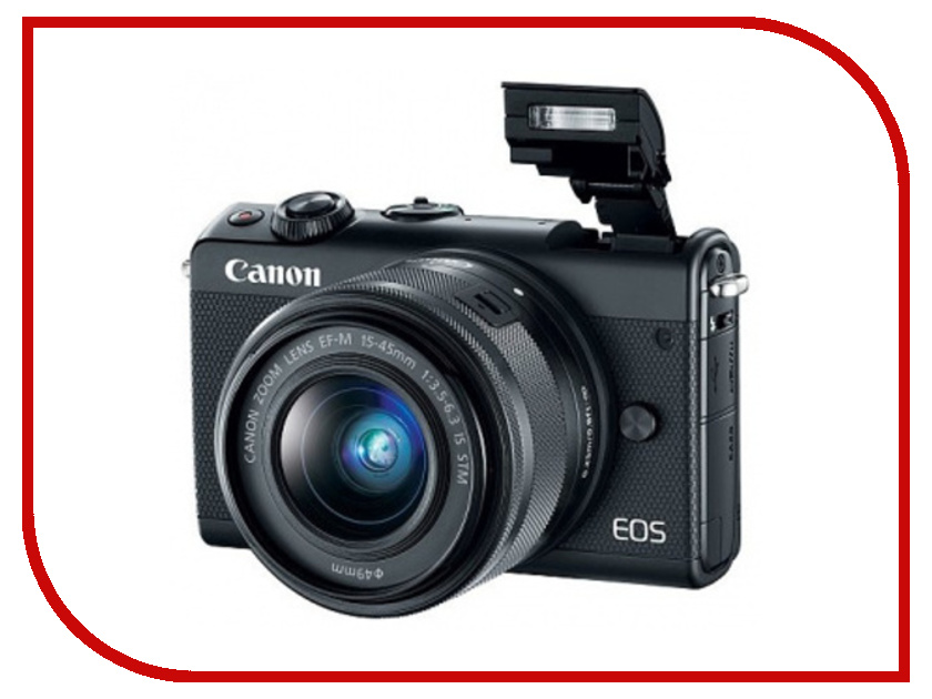 Фотоаппарат Canon EOS M100 Kit EF-M 15-45 IS STM Black бра loft it loft2108w