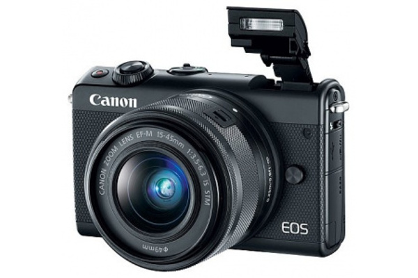 Фотоаппарат Canon EOS M100 Kit EF-M 15-45 IS STM Black цена