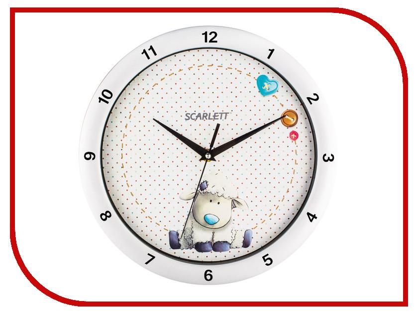 Часы Scarlett SC-WC1005I напольный вентилятор scarlett sc 1176