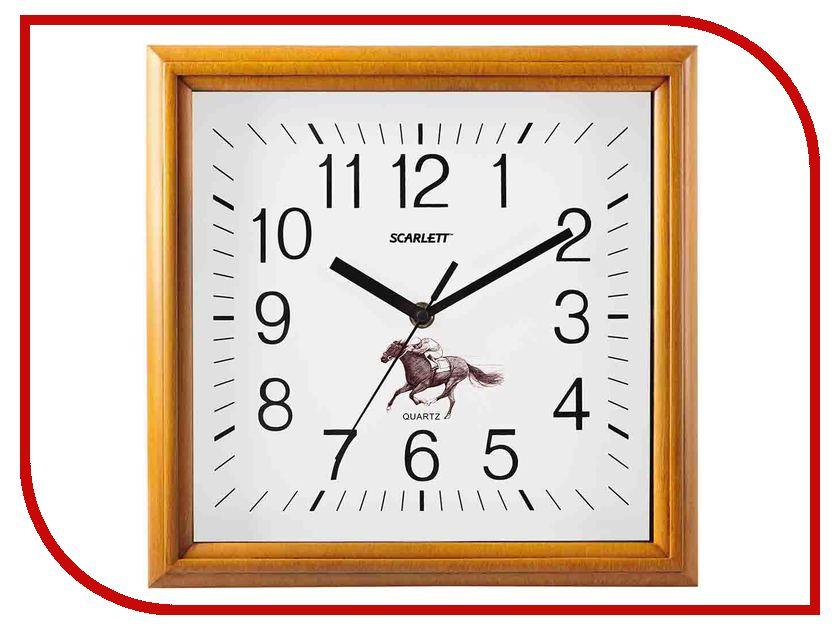 Часы Scarlett SC-WC1015O напольный вентилятор scarlett sc 1176