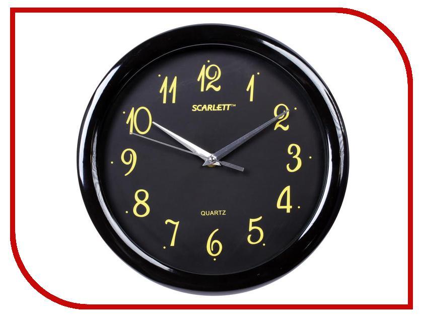Часы Scarlett SC-44R соковыжималки электрические scarlett соковыжималка цитрусовая scarlett sc je50c03 90вт