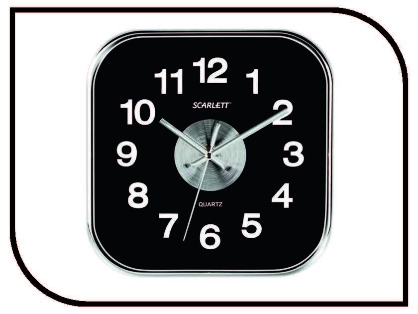 Часы Scarlett SC-WC1005O кофеварка scarlett sc cm33006