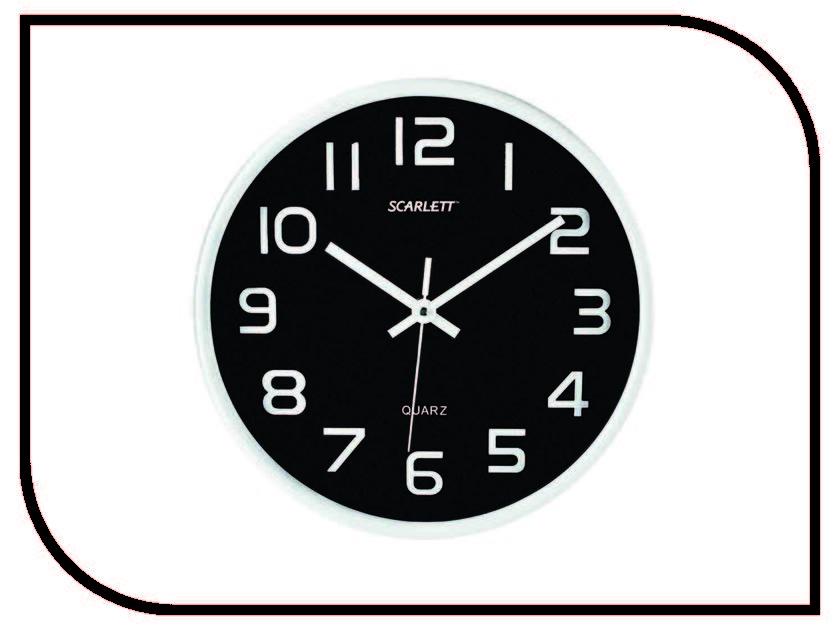 Часы Scarlett SC-WC1001O напольный вентилятор scarlett sc 1176
