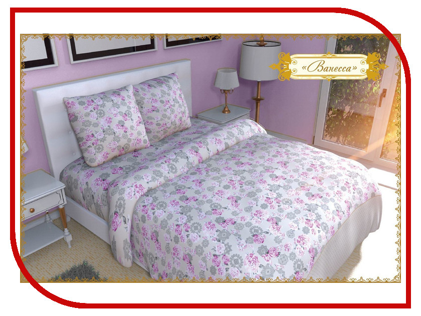 Постельное белье Этель Ванесса Комплект 2 спальный Бязь 1117646 постельное белье гербарий бежевый gs бязь 2 спальный