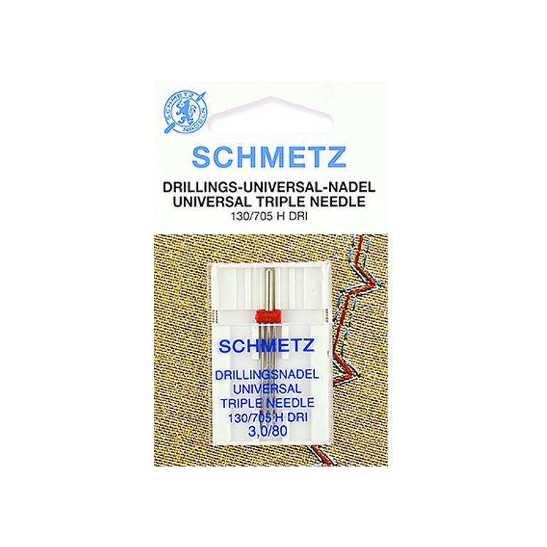 Тройная игла Schmetz №80/3 130/705H DRI