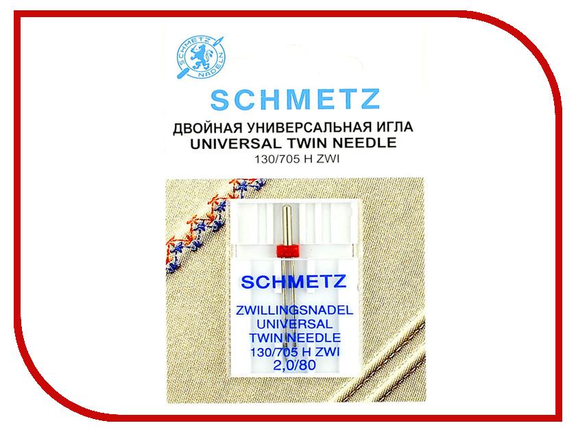 Двойная игла Schmetz NM80 NE1.6 130/705H ZWI