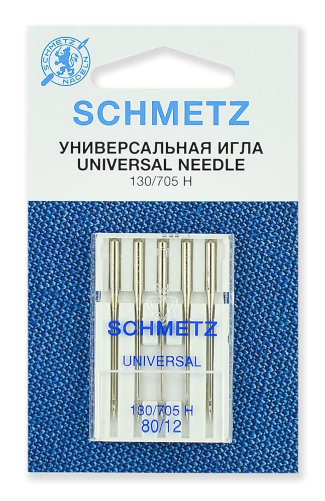 Набор игл Schmetz №80 130/705H 5шт фото