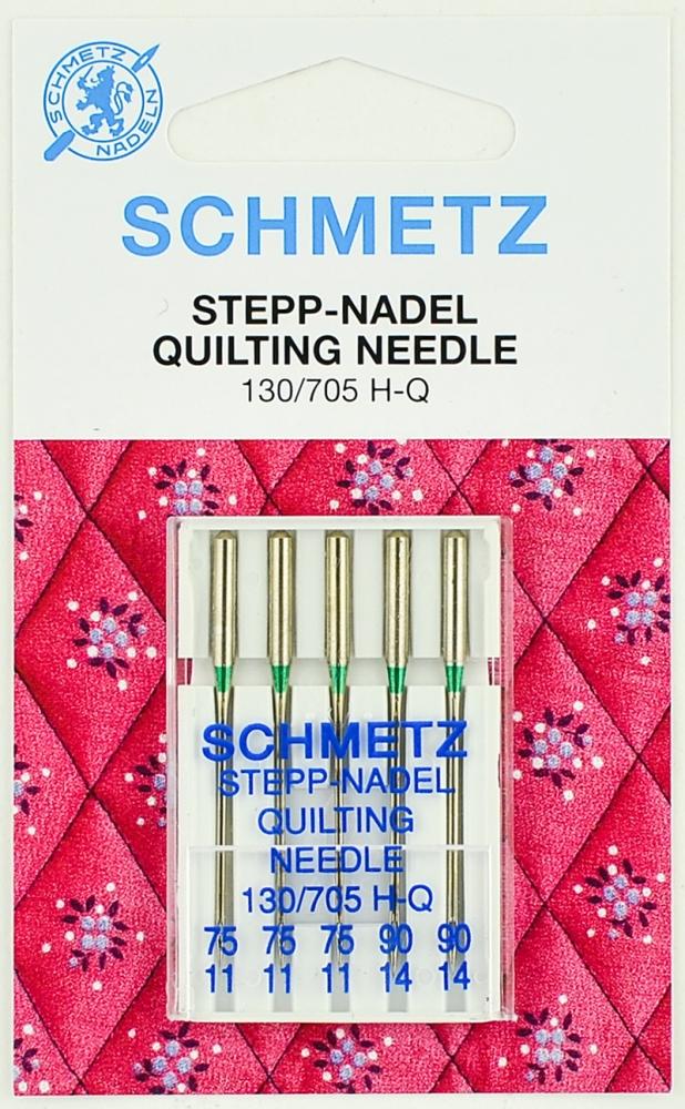 Набор игл для квилтинга Schmetz №75-90 130/705H-Q 5шт