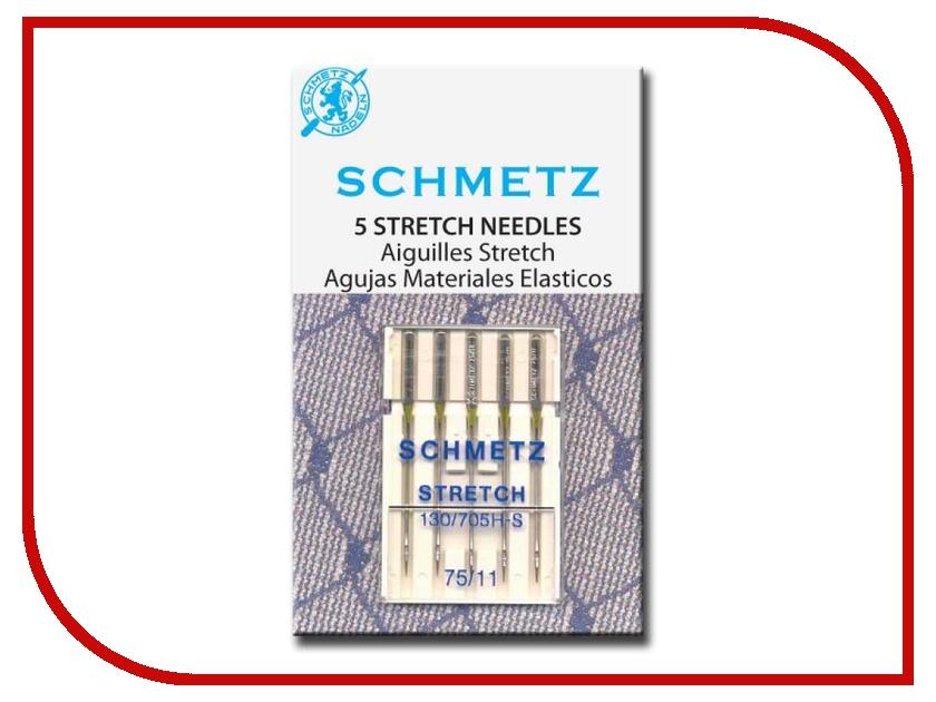 Набор игл для эластичных материалов Schmetz №75 130/705H-S 5шт lacywear s 413 msh