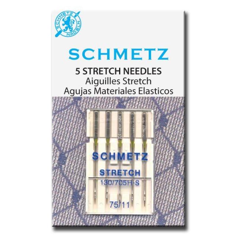 Набор игл для эластичных материалов Schmetz №75 130/705H-S 5шт