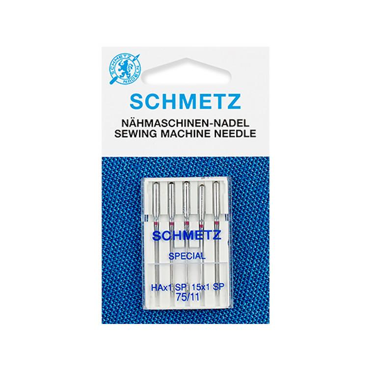 Набор игл для оверлоков Schmetz №75 HAx1SP 5шт