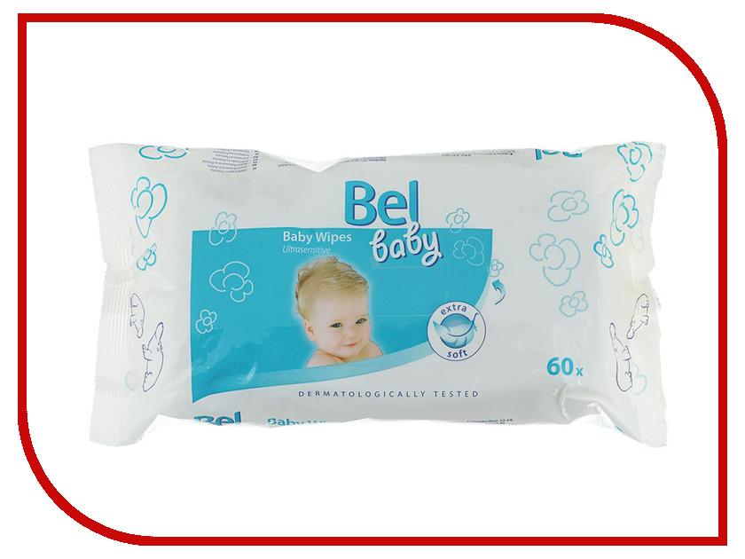 Салфетки Hartmann Bel Baby Wipes 60шт 9162921