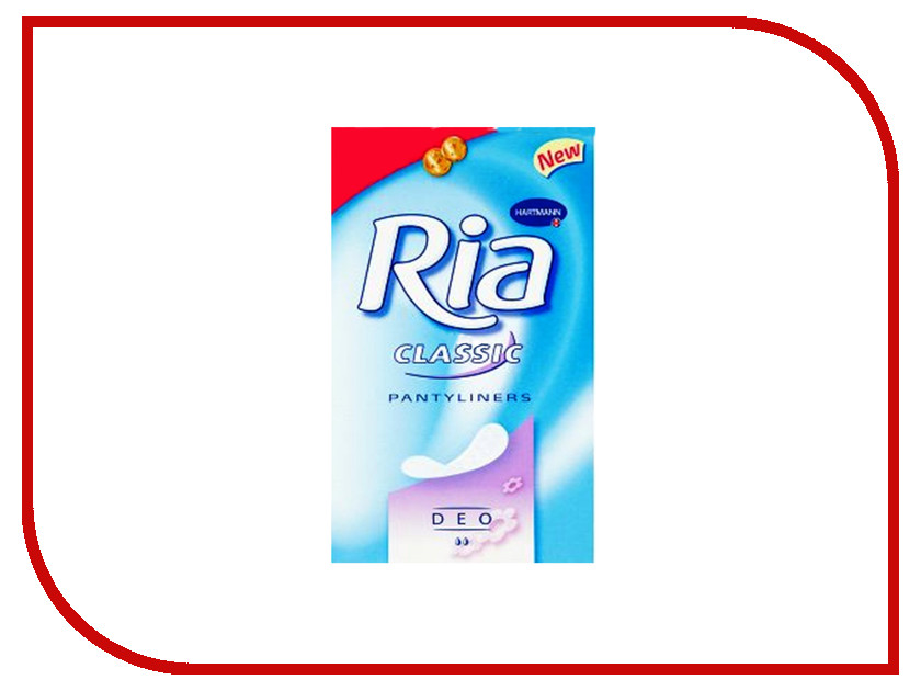 Hartmann Ежедневные Ria Slip Classic Sanitory Towels Deo 7226350 25шт штанишки hartmann molipants soft m 25шт 9477912