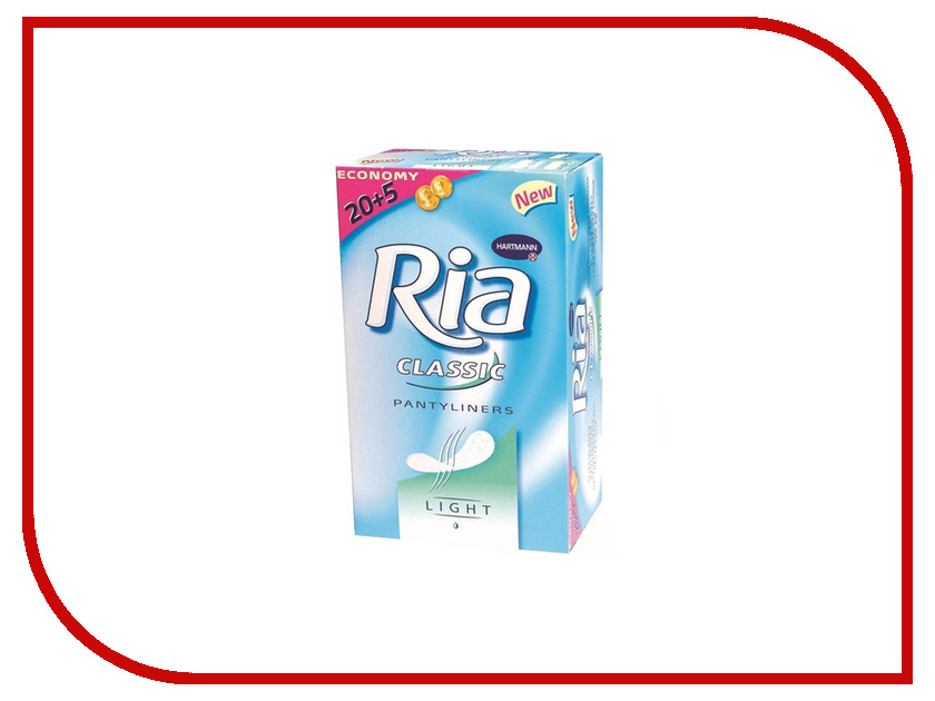 Hartmann Ежедневные Ria Slip Classic Sanitory Towels Light 7226360 25шт штанишки hartmann molipants soft m 25шт 9477912