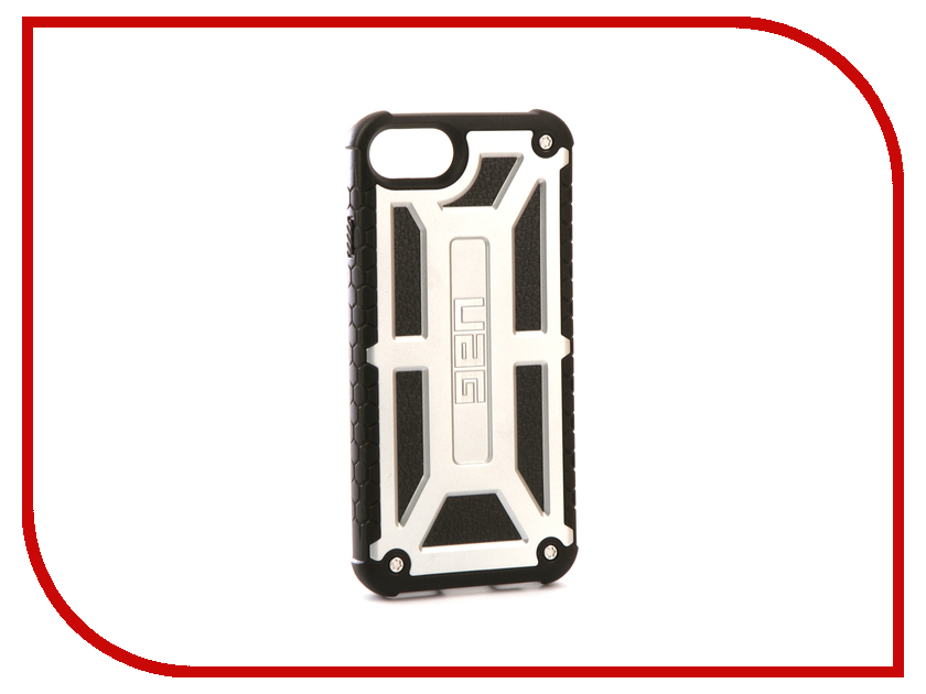 Аксессуар Чехол UAG Monarch для APPLE iPhone 7 Elite Series Platinum urban armor gear trooper series case чехол для iphone 7 6s 6 plus black