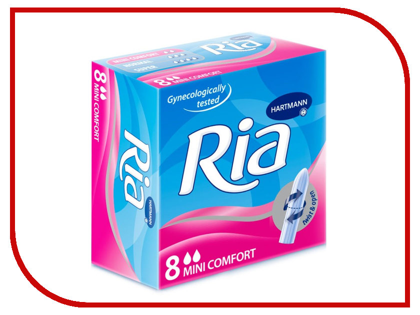 Hartmann Ria Tampons Mini 7091083 8шт redmond ria 5012