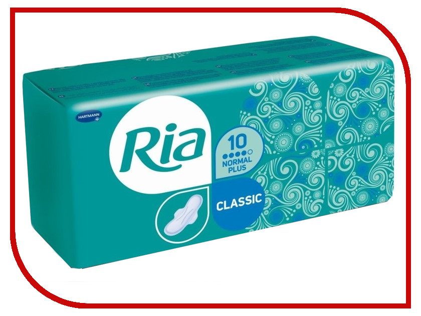 Hartmann Ria Classic Sanitary Towels Nopmal 7105107 10шт аксессуар hartmann tensoval компрессионная манжета 32 42cm 9001553