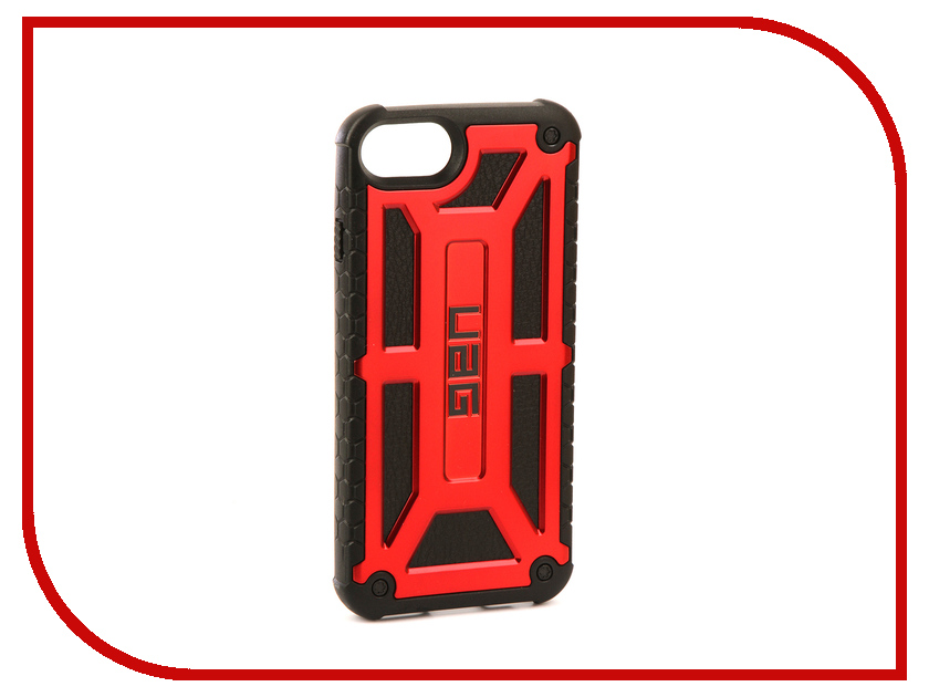 Аксессуар Чехол UAG Monarch для APPLE iPhone 7 Crimson urban armor gear trooper series case чехол для iphone 7 6s 6 plus black