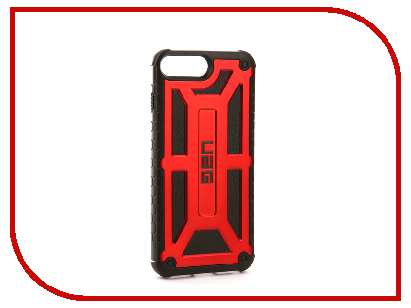 Аксессуар Чехол UAG Monarch для APPLE iPhone 7 Plus Crimson IPH7/6SPLS-M-CR urban dollkiss пенка для умывания urban plus 365 days bubble foam raspberry 180 гр