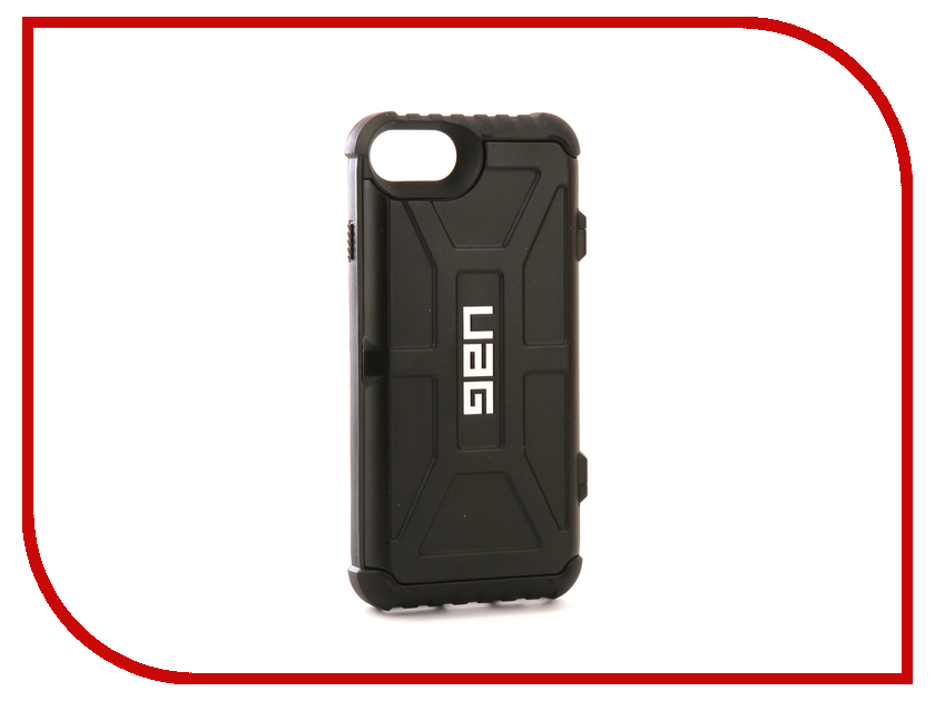 Аксессуар Чехол UAG Trooper Series для APPLE iPhone 7/6s/6 Black urban armor gear trooper series case чехол для iphone 7 6s 6 plus black