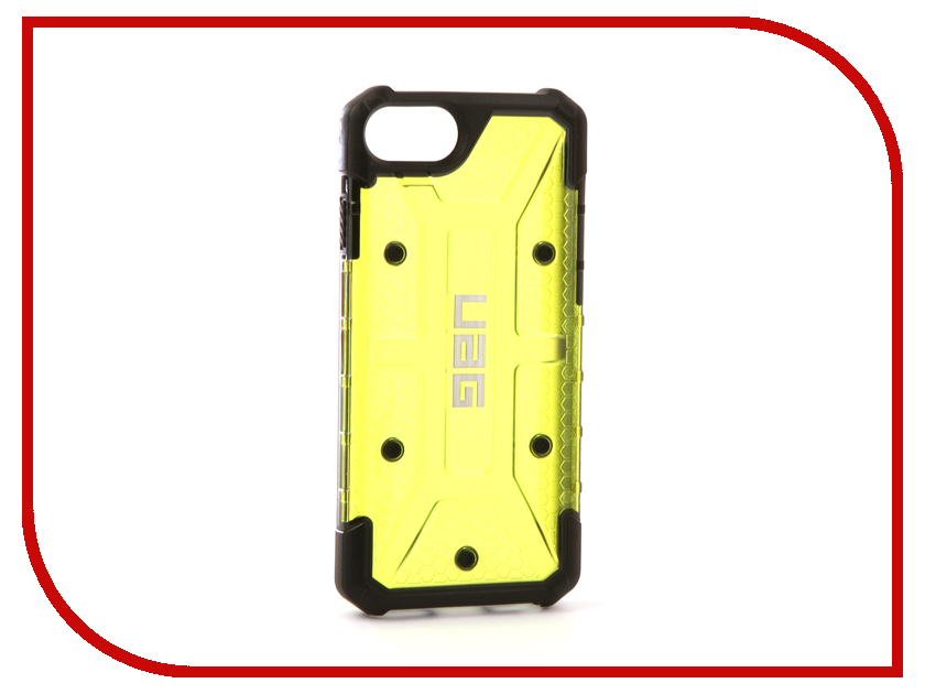 Аксессуар Чехол UAG Plasma для APPLE iPhone 7 Citron urban armor gear trooper series case чехол для iphone 7 6s 6 plus black