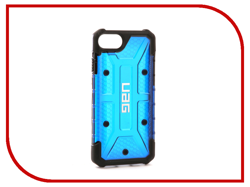 Аксессуар Чехол UAG Plasma Cobalt для APPLE iPhone 7 Blue IPH7/6S-L-CB urban armor gear trooper series case чехол для iphone 7 6s 6 plus black