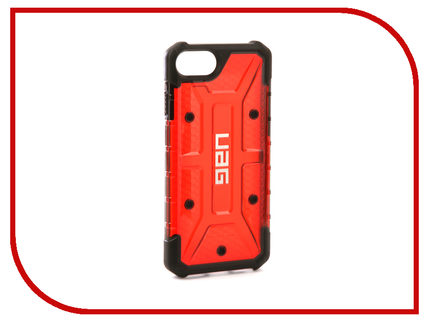 Аксессуар Чехол UAG Plasma для APPLE iPhone 7 Red urban armor gear trooper series case чехол для iphone 7 6s 6 plus black