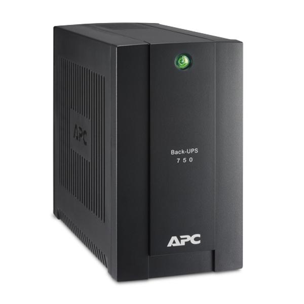 Источник бесперебойного питания APC Back-UPS 750VA BC750-RS ибп apc by schneider electric back ups 750va 230v schuko bc750 rs