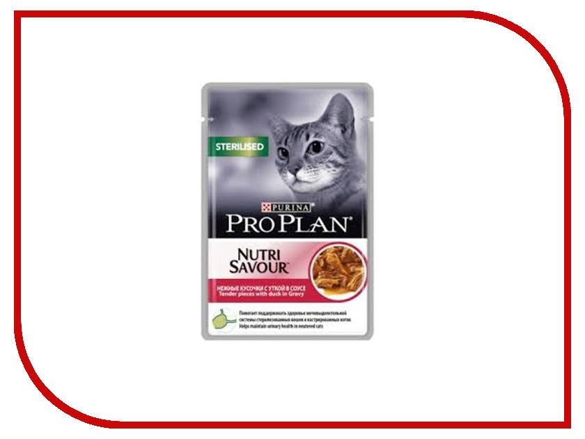 Корм Pro Plan Sterilised Утка 85g для стерилизованных кошек 61999