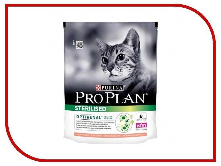Корм Pro Plan Sterilised Optirinal Лосось 400g для кастрированных котов и стерилизованных кошек 46291 памперсы для котов купить