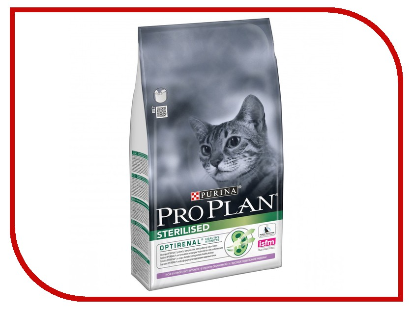 Корм Pro Plan Sterilised Optistart Индейка 1.5kg для кастрированных котов и стерилизованных кошек 44619 памперсы для котов купить