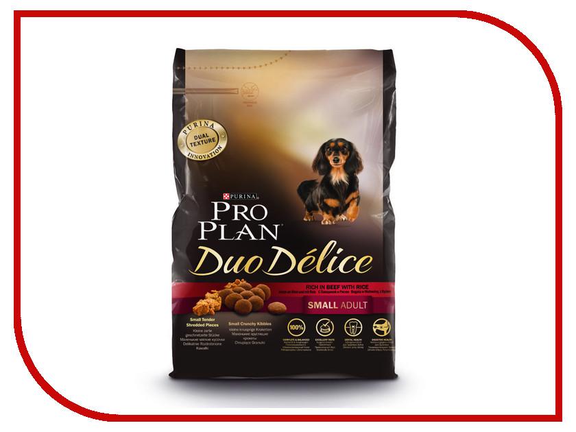 Корм Pro Plan Duo Delice Adult Small Говядина с Рисом 700g для собак Мелких и карликовых пород 57919 корм сухой pro plan duo delice для собак мелких и карликовых пород с лососем и рисом 2 5 кг