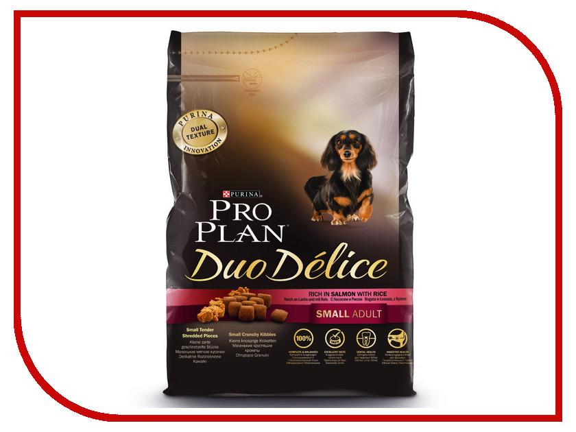 Корм Pro Plan Duo Delice Adult Small Лосось с Рисом 700g для собак мелких и карликовых пород 57829 корм сухой pro plan duo delice для собак мелких и карликовых пород с лососем и рисом 2 5 кг