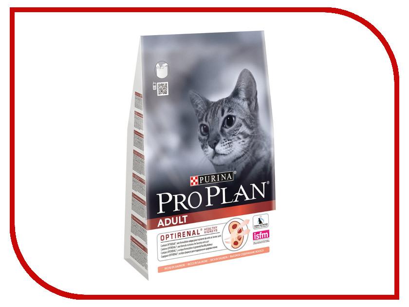 Корм Pro Plan Adult Optirenal Лосось 1.5kg для кошек 45916