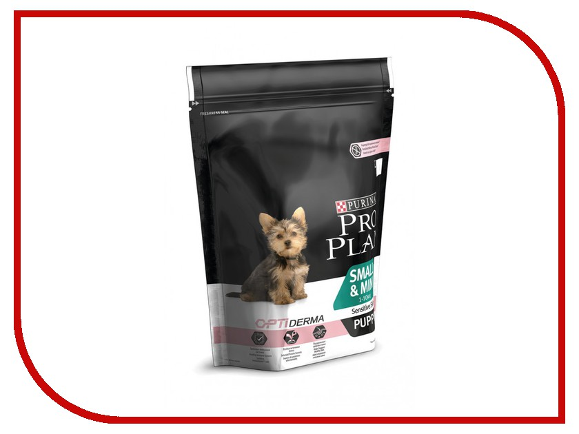 Корм Pro Plan Puppy Small Mini Sensitive Skin Optiderma Лосось Рис 700g для щенков мелких карликовых пород 1 - 10kg с чуствительной кожей 67615 pro plan puppy sensitive купить