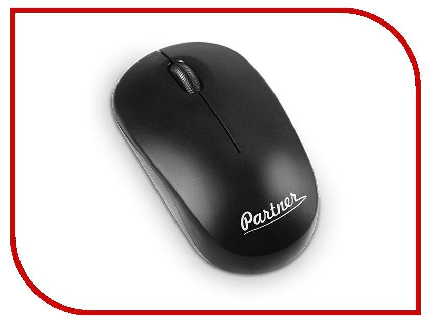 Мышь Partner Cordless WM-030 Black ПР037738 спец wm 400