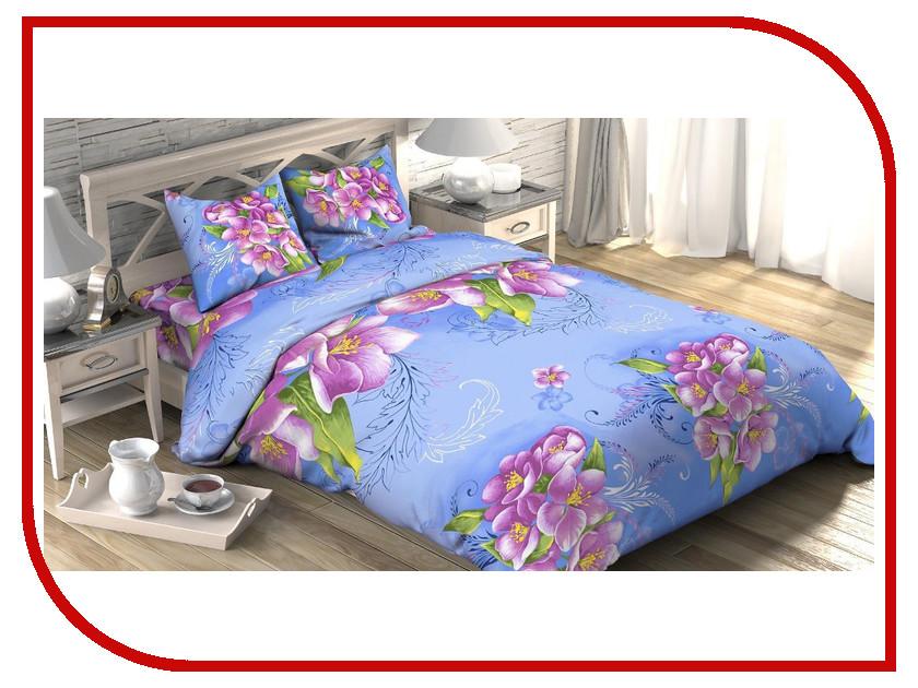 Постельное белье Этель Селена Комплект 1.5 спальный Бязь 1652774 интернет магазин селена