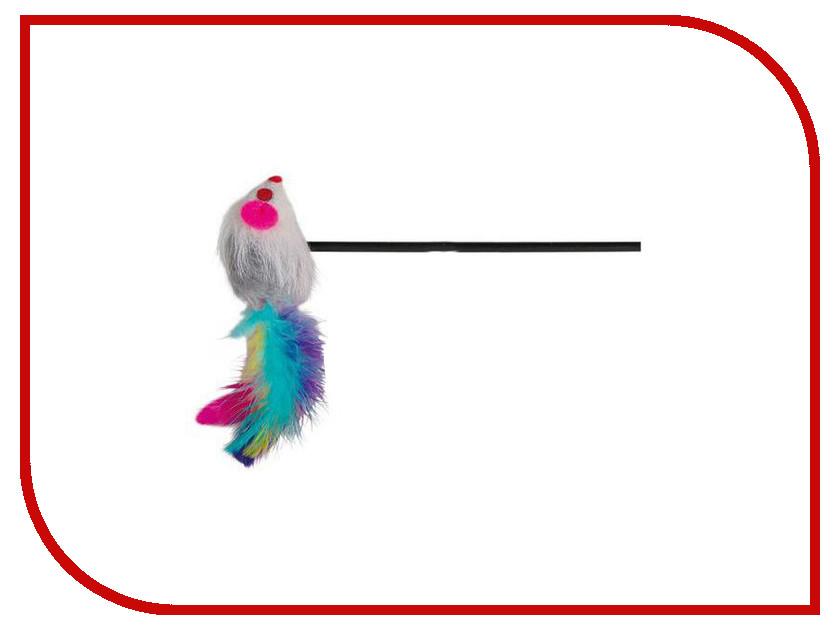 Игрушка Трикси Удочка дразнилка с мышкой 27382 какую хорошую клавиатуру с мышкой для cs