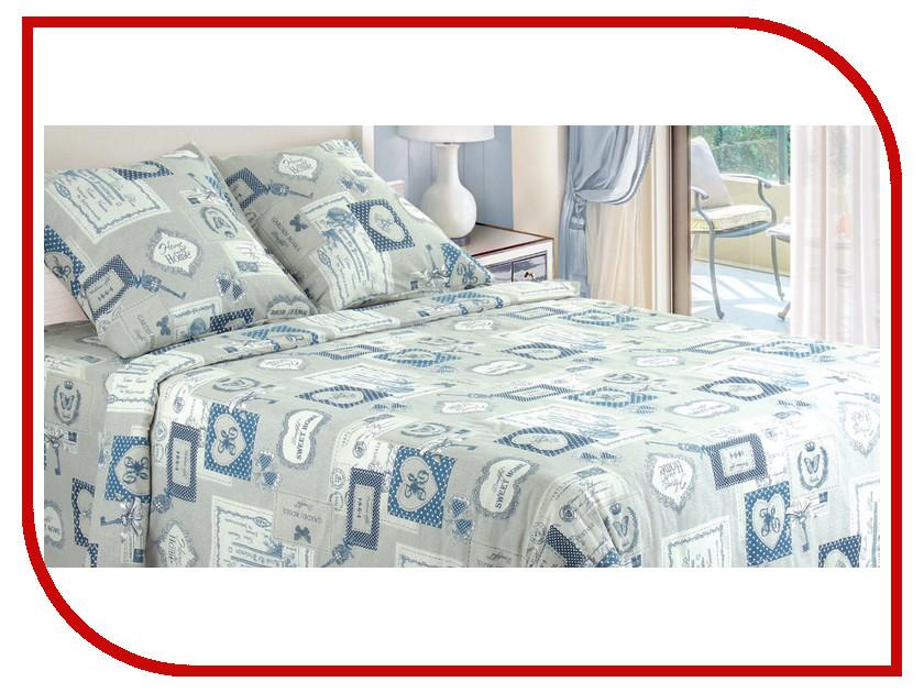 Постельное белье Этель Мегаполис Комплект 1.5 спальный Бязь 1225032 непоседа постельное белье зайчата 3 пред бязь непоседа желтый
