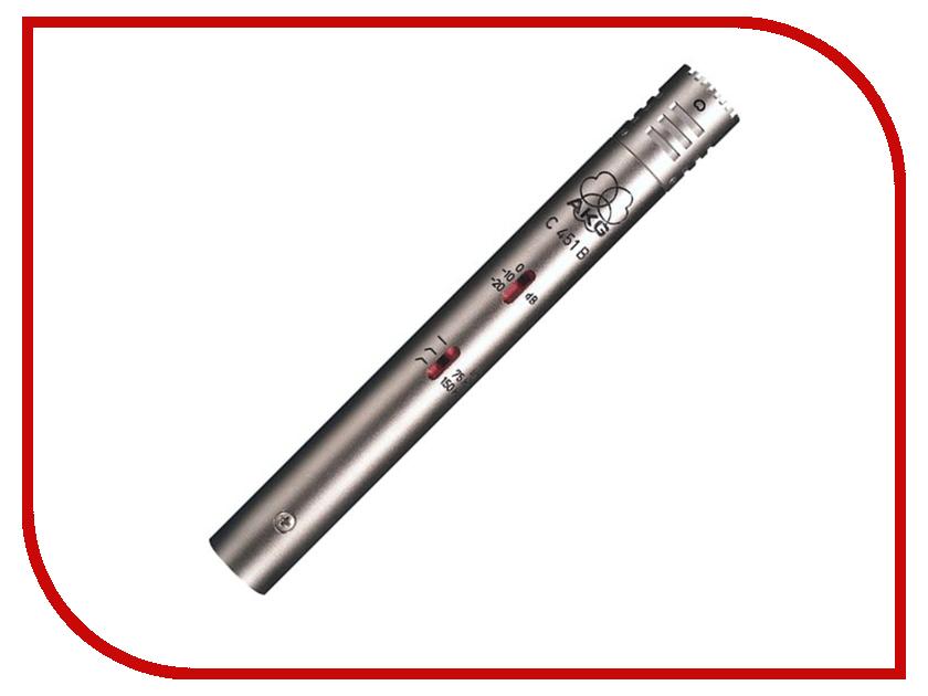 Микрофон AKG C451B инструментальный микрофон akg c451b
