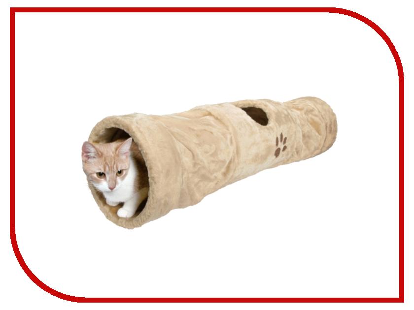 Место для отдыха Трикси Туннель плюшевый 60cm 17846 трикси туннель когтеточка для кошек trixie 32см
