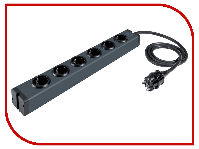 Inakustik Exzellenz PowerBar AC-25-6 1.65m 006170615 in akustik exzellenz mono subwoofer 3 0m 00604203