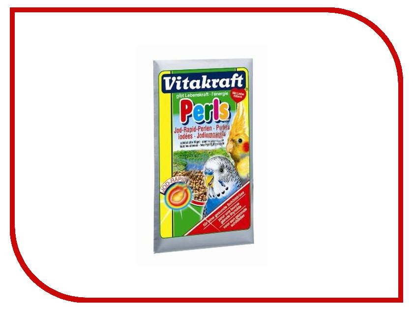 Vitakraft Perls 20g для волнистых попугаев с йодом 3272 корм для птиц vitakraft подкормка для волнистых попугаев йодная 20 г