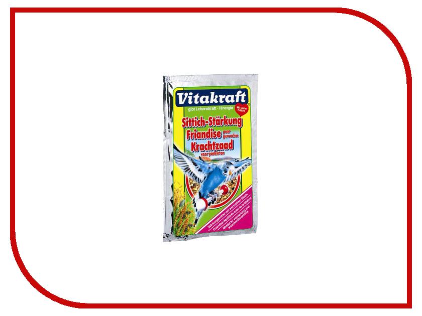 Vitakraft Perls 30g для волнистых попугаев укрепление организма 3277 vitakraft корм для волнистых попугаев vitakraft menu vital 500 г