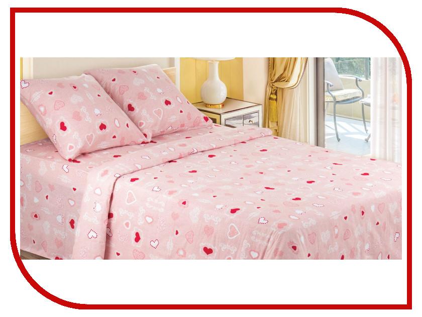 Постельное белье Этель Романтика Комплект 1.5 спальный Бязь 1292988 непоседа постельное белье зайчата 3 пред бязь непоседа желтый