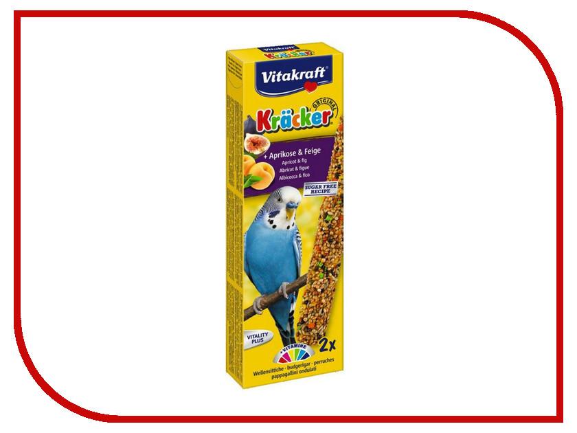 Vitakraft Крекеры Фруктовые для волнистых попугаев 3293 корм для птиц vitakraft для волнистых попугаев 800г