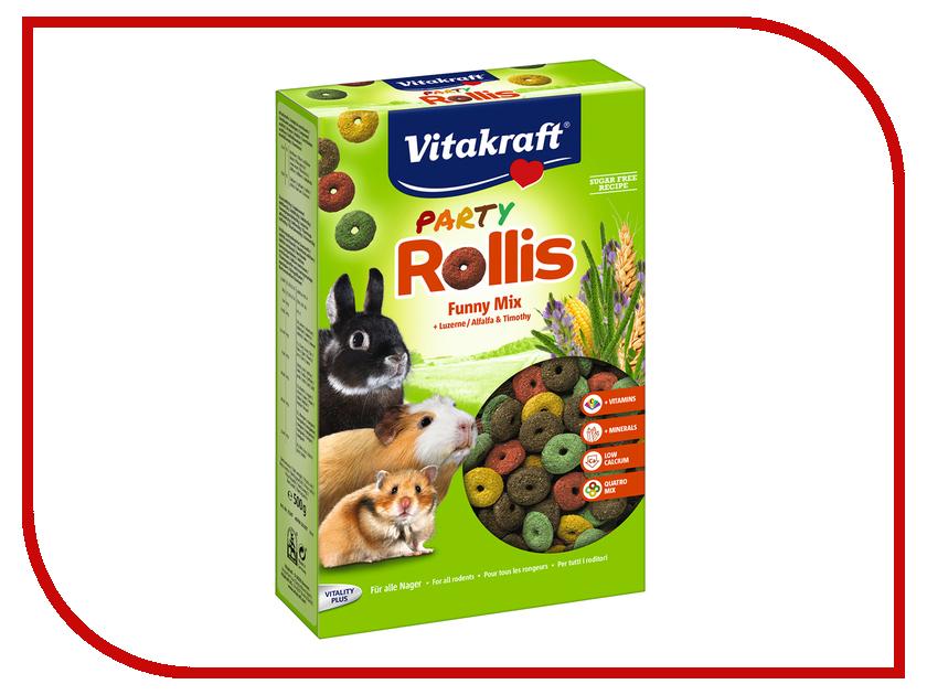 Vitakraft Rollnis Party 500g для грызунов 14277 камень для грызунов vitakraft sel plus соляной
