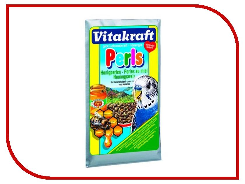 Vitakraft Perls Медовые для волнистых попугаев 3270 vitakraft корм для волнистых попугаев vitakraft menu vital 500 г