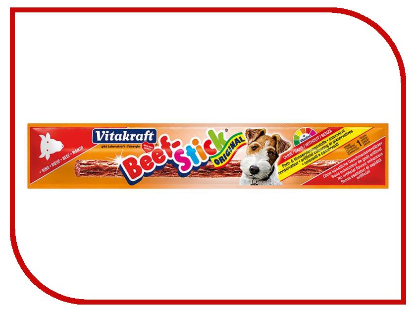 Лакомство Vitakraft Beef Stick Говядина 12g для сокак 32219
