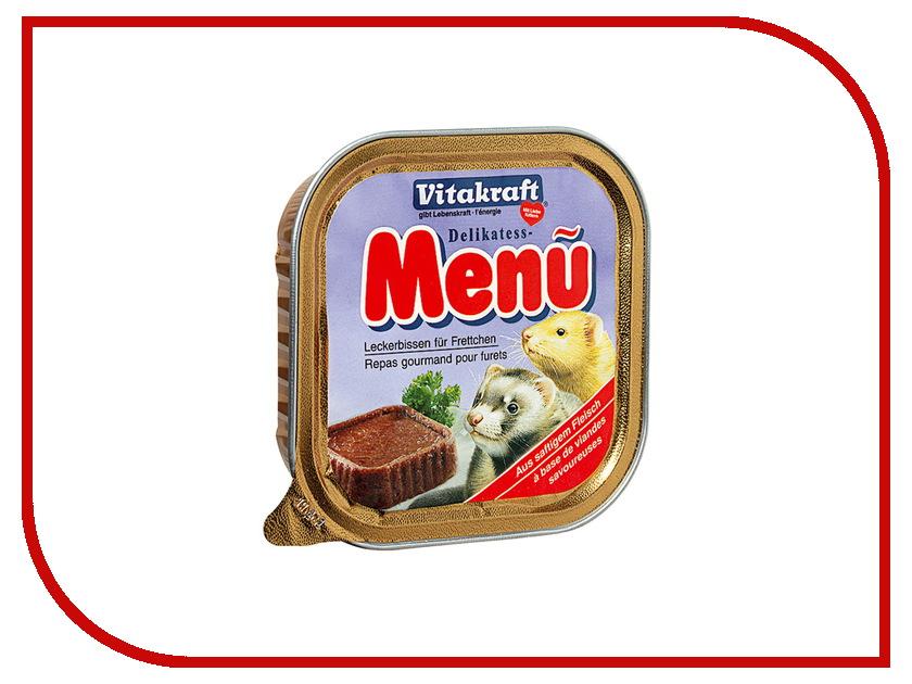 Vitakraft Delikates Menu 100g для хорьков 32225 vitakraft корм для кроликов vitakraft menu vital 3 кг